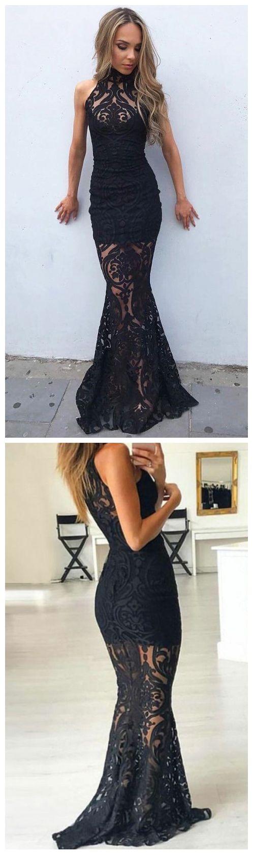 Prom Dresses ,Evening Dress, Mermaid Prom Dresses,High Neck