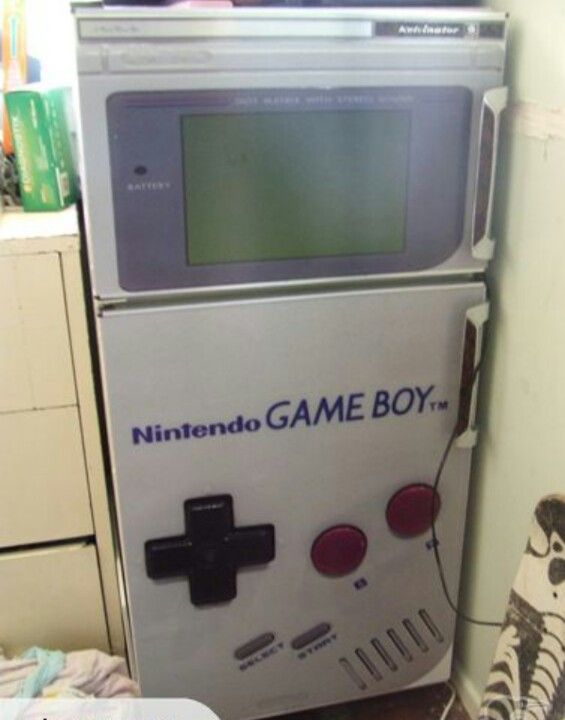 Game room fridge! Oh this IS a must!