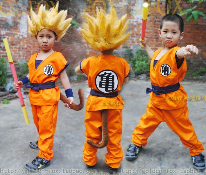 Dragon Ball Z Cosplay Costume for Kids. Tag a friend who would love this! FREE Shipping Worldwide Get it here ---> https://www.shenronstore.com/dragon-ball-z-dbz-fils-goku-cosplay-costume-vetements-et-perruque-cosplay-pour-enfants-toppantalonperruqueceinturequeuepoignetdor-baton/