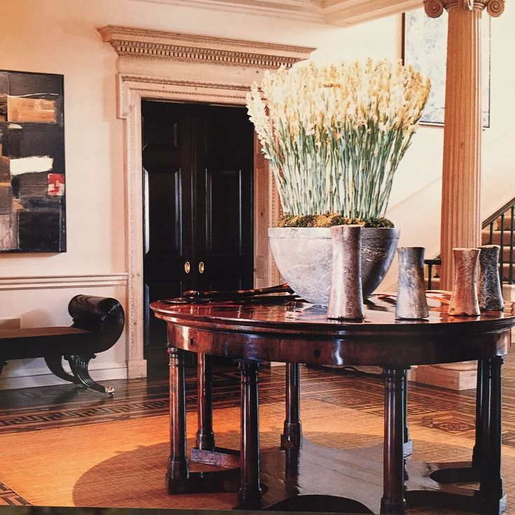 The Jack Warner estate decorated by Rose Tarlow for David Geffen.
