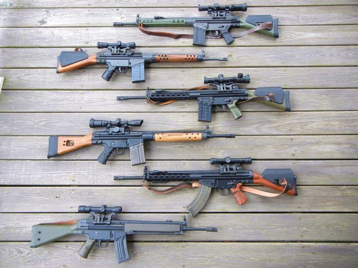 Modern Firearms  HK G3