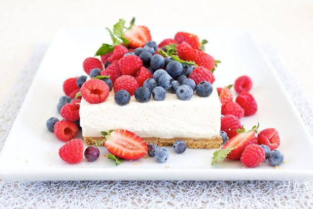 summer berry cheesecake - the big debate: baked or fridge cheesecake? give this fridge cheesecake a go - it's a breeze to prepare and best dressed up in the fruits of the season ... Yuppiechef