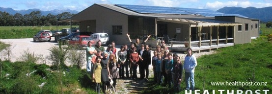 the extended healthpost family. solar panel heaven