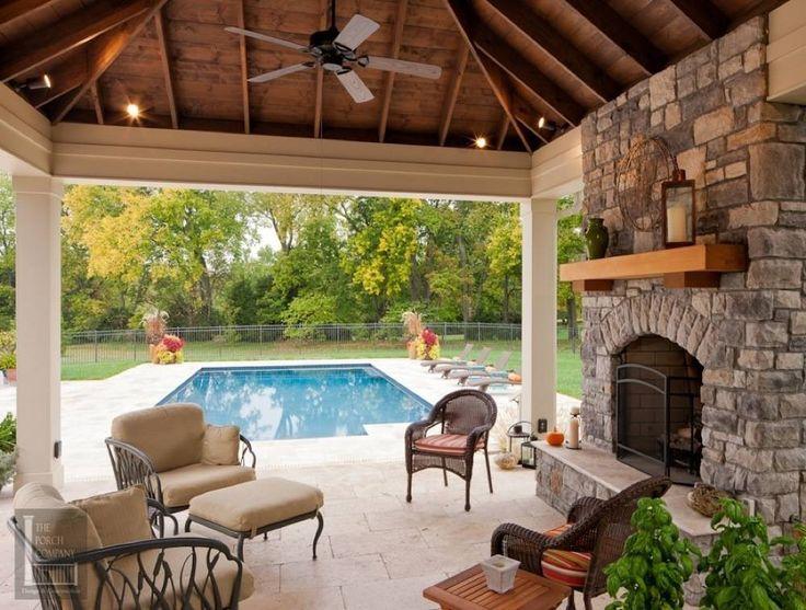 Deck Fireplace Ideas Part - 15: Portfolio | The Porch CompanyThe Porch Company. Porch FireplaceFireplace  IdeasPool ...