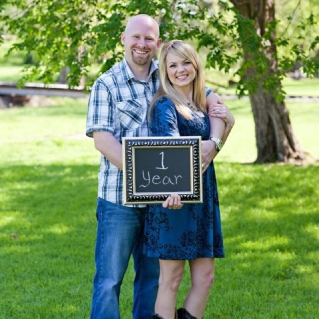 First Anniversary picture! Love it! Thanks McGowan Images!   www.mcgowanimages.com