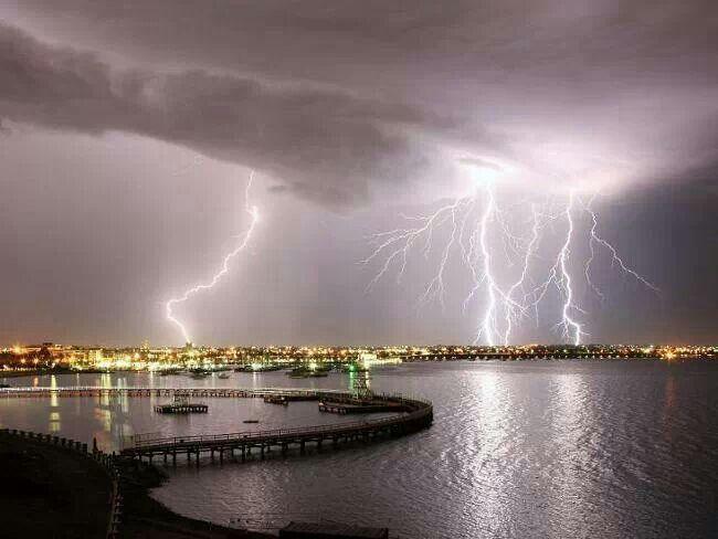 By Peter Redmond across Eastern Beach, Geelong