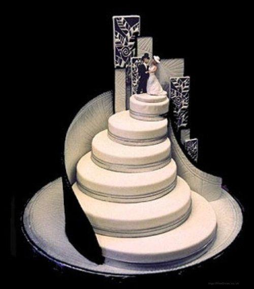Top 27 des gateaux de mariage insolites et originaux (vraiment)
