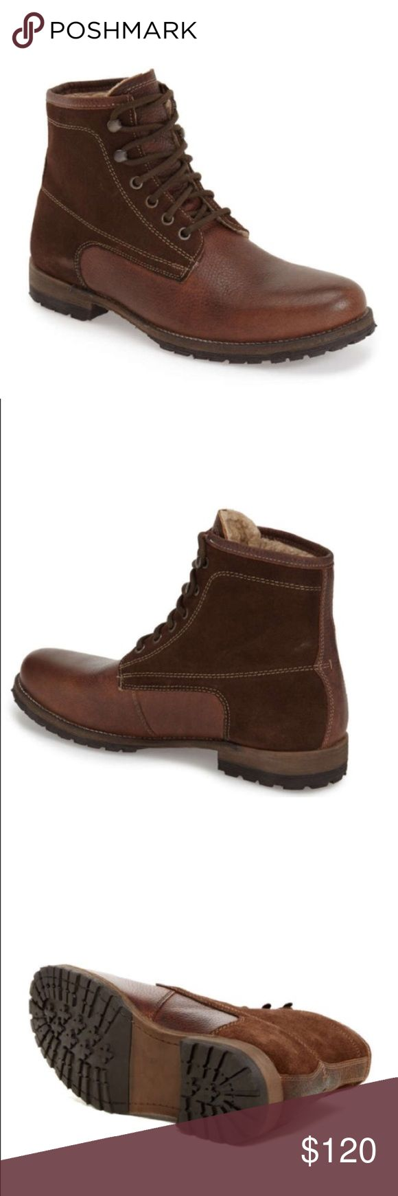 Steve Madden Men's Leather Boots