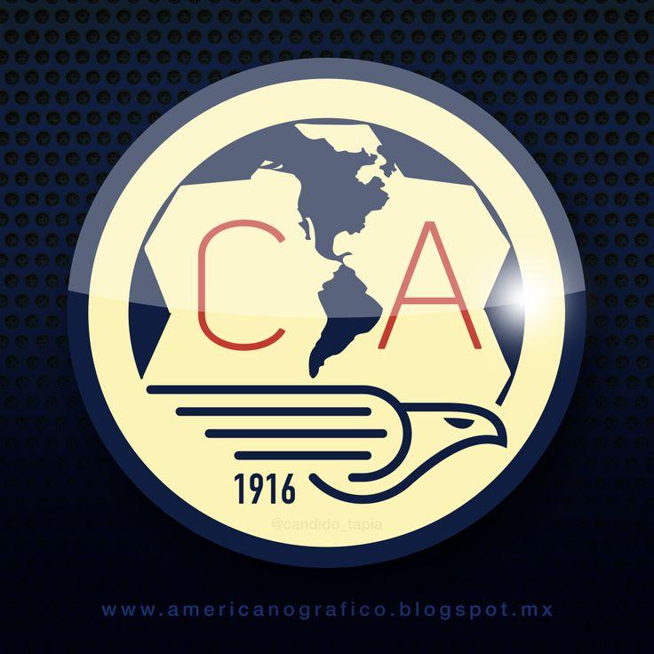 64 best escudos club américa images on pinterest   club america
