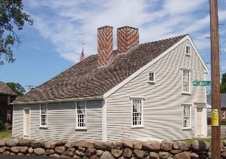 John and Abigail Adams lived in this house in Quincy, Massachusetts (Braintree at the time), when their son John Quincy was born. John Quincy would go on to become the 6th President of the United States. The property contains 3 homes lived in by John Adams. today it is called the Adams National Historic Park and is managed by the National Park Service.