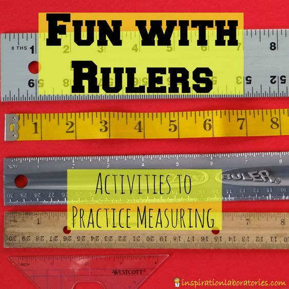 Challenge and Discover: Fun with Rulers - share your activities to practice measuring with rulers and be inspired by others