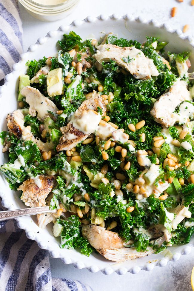 21 Best Paleo Whole30 Recipes For Meal Prep Salad Recipes For Dinner Savory Salads Chicken Caesar Salad