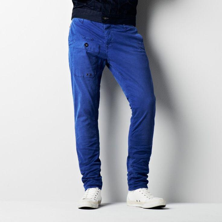 Raw correct cargo chino slim-Men-Pants-G-Star