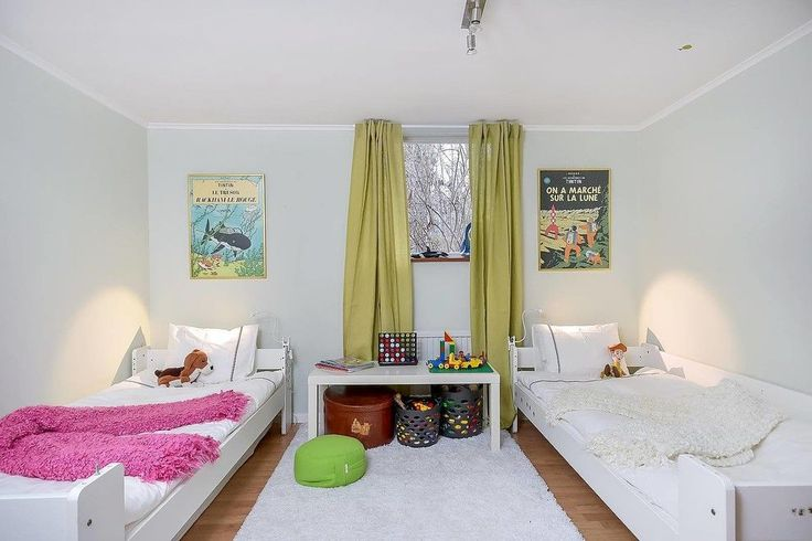 Детская комната для разнополых детей: 50+ гармоничных вариантов организации пространства http://happymodern.ru/detskaya-dlya-raznopolyx-detej-ili-kak-uzhitsya-v-odnoj-komnate/ Детская комната для брата и сестры без цветового разграничения