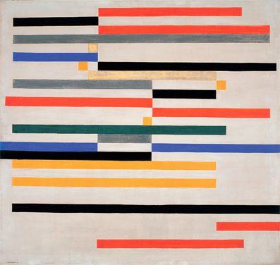 igormaglica:  Waldemar  Cordeiro (1925-1973), Movimento, 1951. Têmpera sobre tela