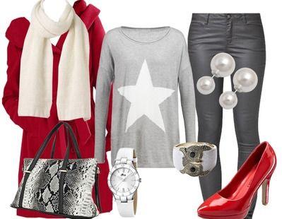 du rouge tenue de travail looks blogs tendencias outfits ideas for ladies. Black Bedroom Furniture Sets. Home Design Ideas
