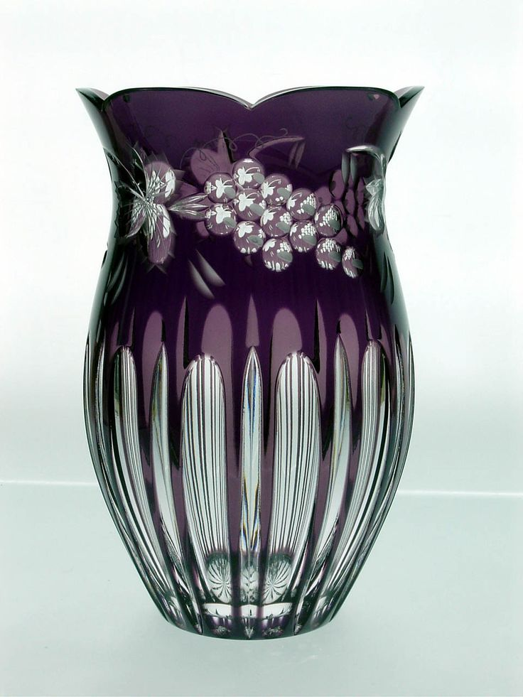 Crystal Vases | Crystal vases from the manufacturer Ajka Crystal. Wholesale prices for ...