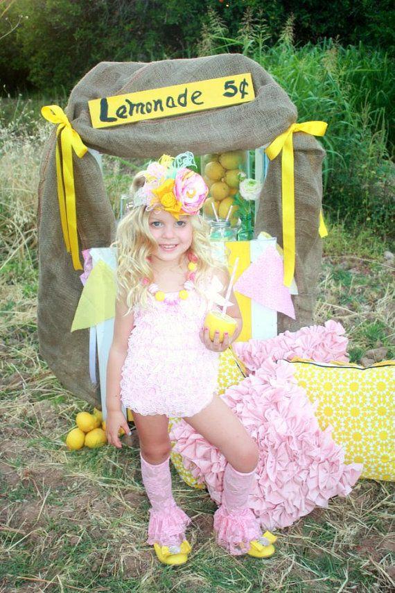 summer lovin' shabby chic yellow headband by londonraquel on Etsy, $31.99