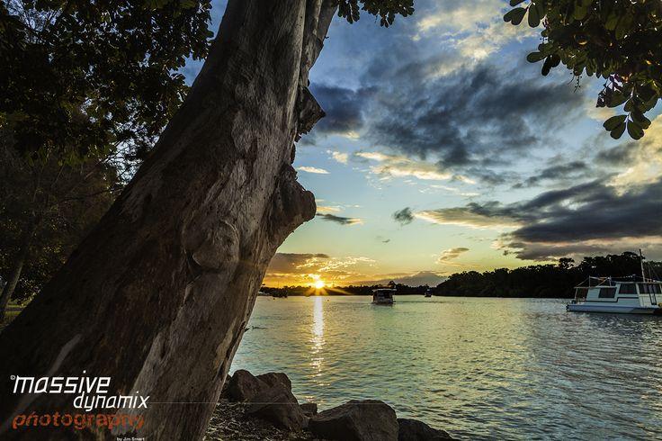 Noosa River Sunset