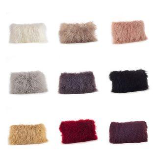 Shop for Mongolian Lamb Fur Throw Pillow. Get free shipping at Overstock.com…