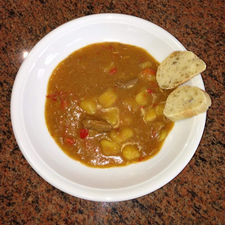 Rezept Gulaschsuppe von Thermomix Rezeptentwicklung - Rezept der Kategorie Suppen