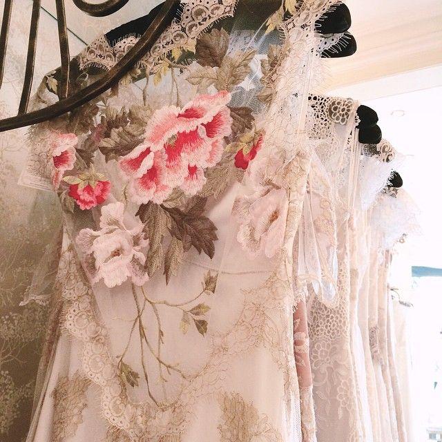 1000+ Images About FLORAL WEDDING Dresses On Pinterest