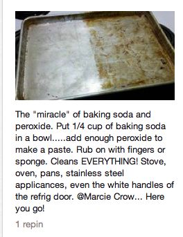 Ok i don't understand why there are 100's of posts about the magic of baking soda. This didn't work for me at all! And i scrubbed a small pan with a sponge for half an hour! :-(