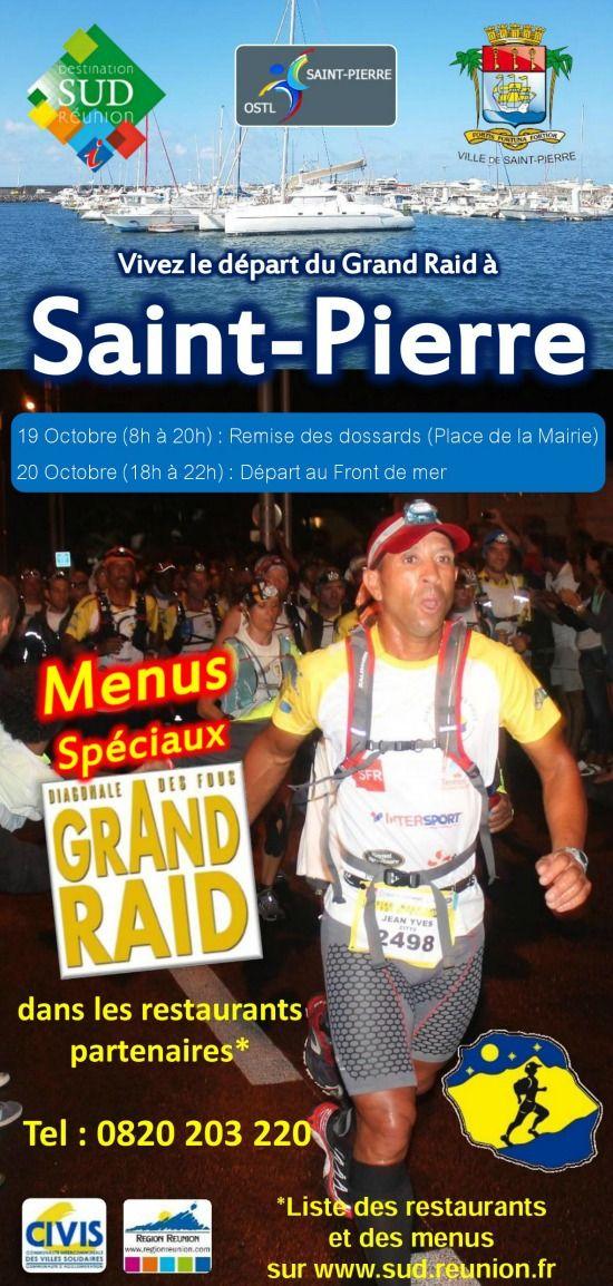 Départ du Grand Raid 2016 - Office de tourisme Destination Sud Ile de la Réunion