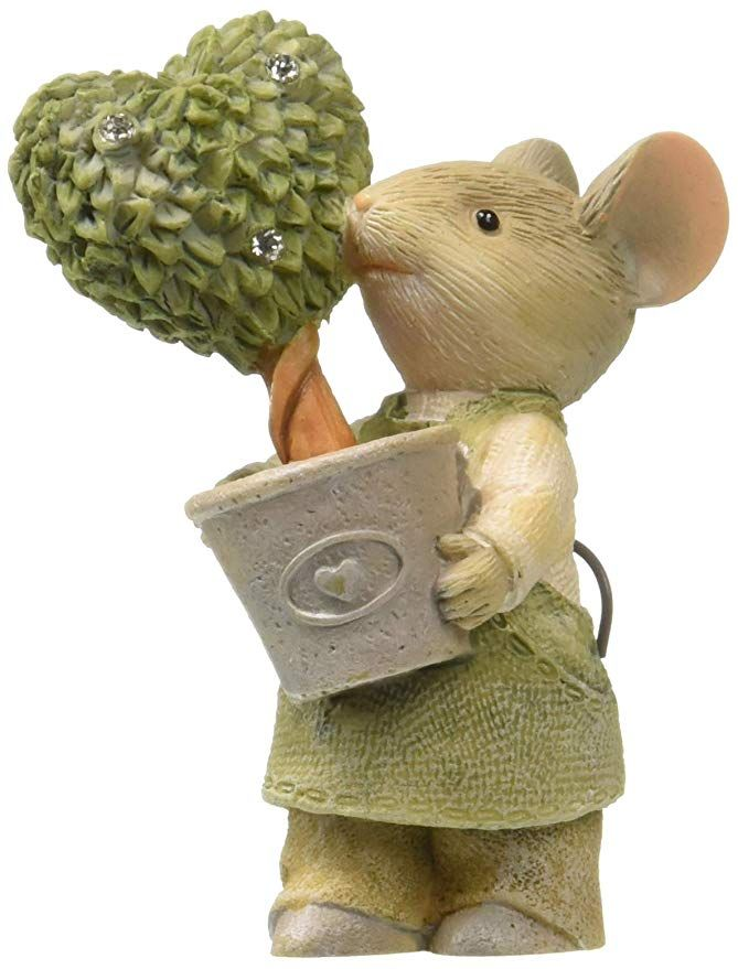 Heart Of Christmas Mice 2020 Enesco Heart of Christmas Mouse with Topiary in 2020 | Christmas