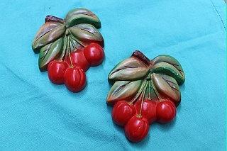 Chalkware cherries!
