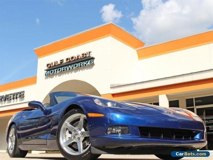 2005 Chevrolet Corvette Base Convertible 2-Door #chevrolet #corvette #forsale #unitedstates
