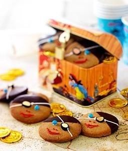 traktatie piraten koekjes