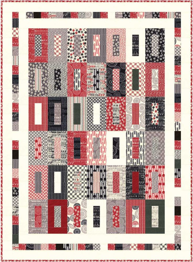 One of the newest fabric lines we have in the shop is Mama Said Sew by Moda:           We have the entire line in yardage as well as char...