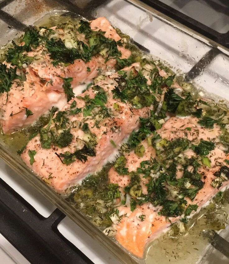 ina garten roasted salmon green herbs recipe barefoot contessa how easy is that