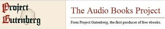 Gutenberg:The Audio Books Project