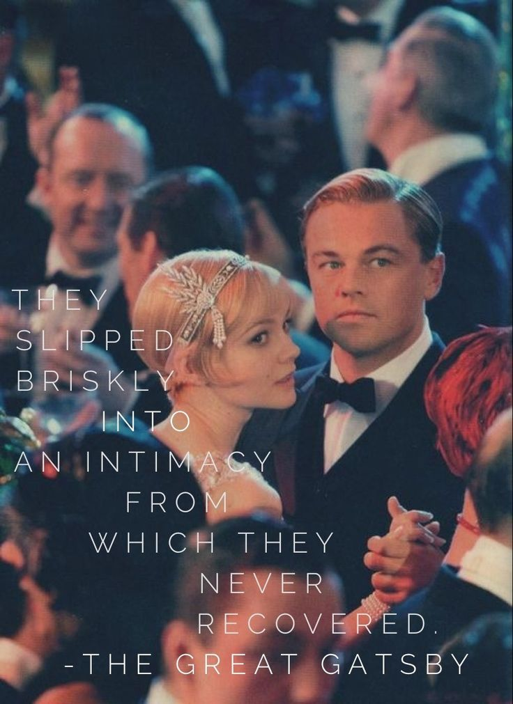 and gatsbys relationship