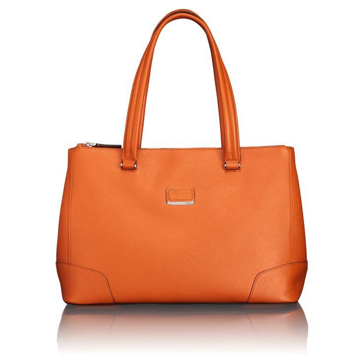 Delano Double Zip Leather Carry-All - Tumi