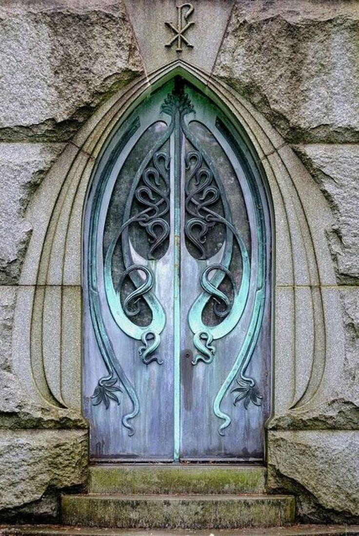 Art Nouveau door...anyone know the location?