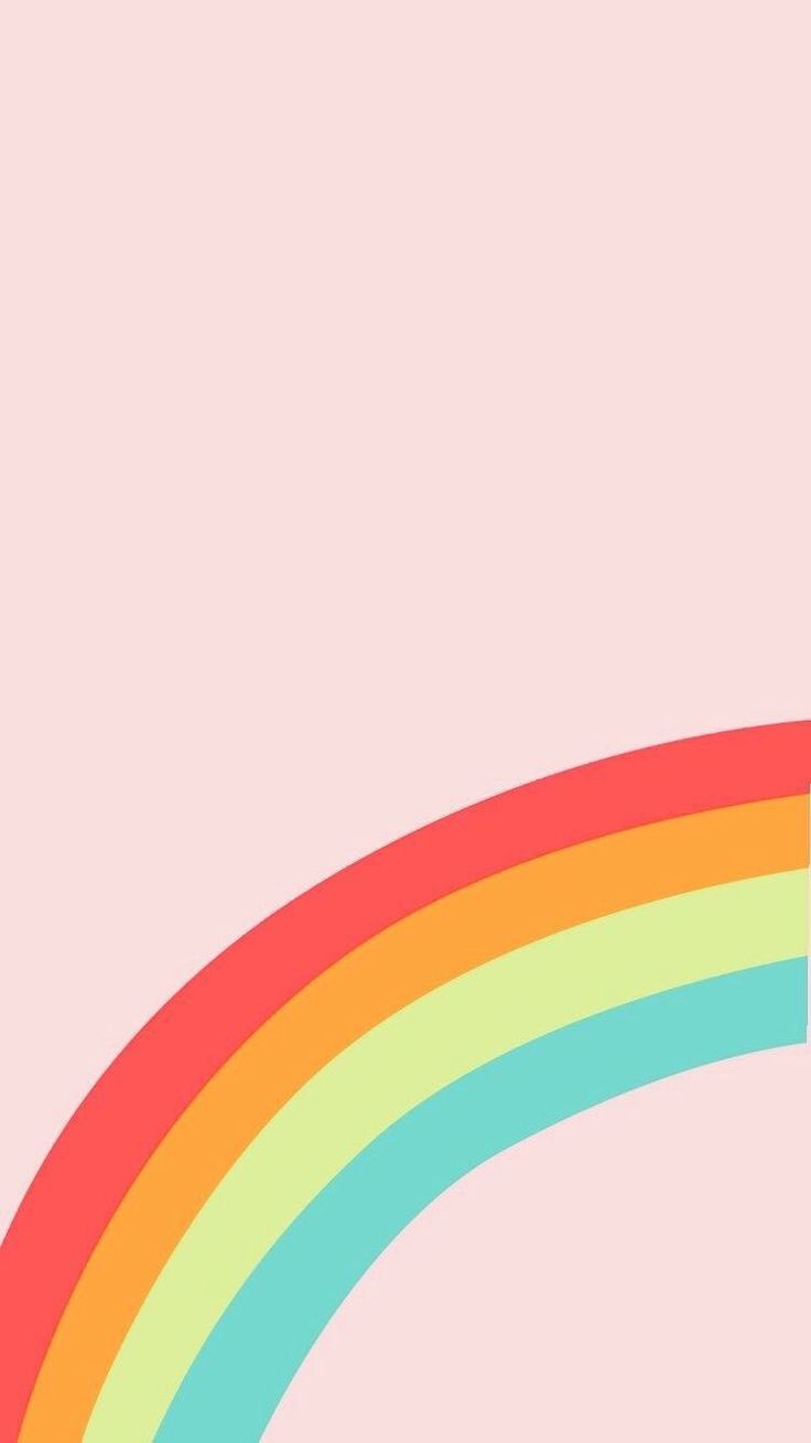 Iphone And Android Wallpapers Pastel Rainbow Wallpaper For Iphone