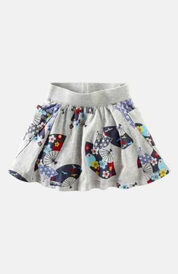 Tea Collection 'Deco Fans' Skirt (Toddler Girls, Little Girls & Big Girls) available at #Nordstrom