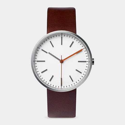 Uniform Wares Watch Brown | MoMAstore.org