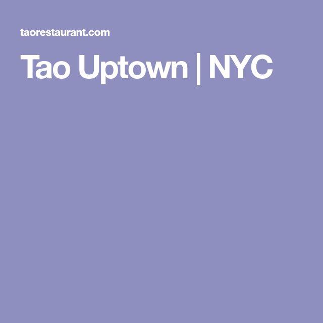 Tao Uptown | NYC