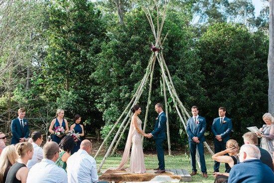 Rosina & Jason's Country Boho Wedding