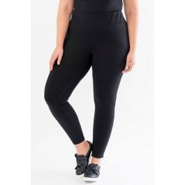 Pull-on Pants with Waistband Trim