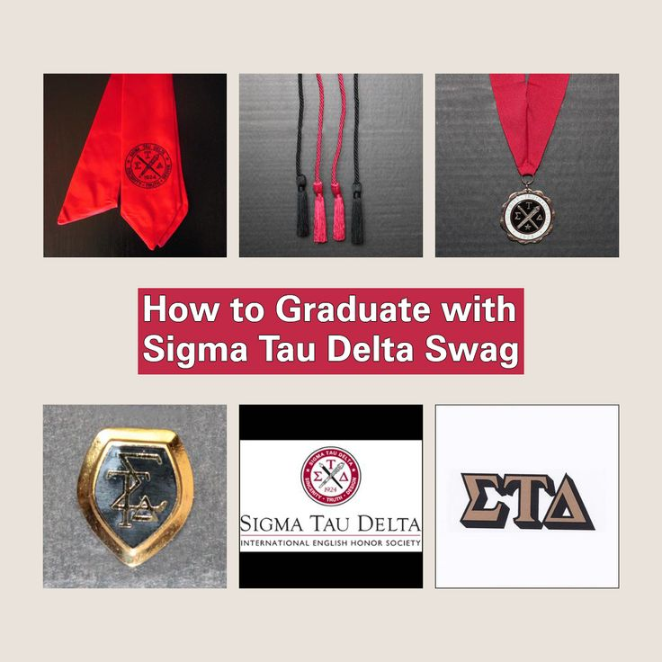 Are you about to graduate? In this week's blog Samantha Santana from the University of North Carolina Wilmington's Sigma Tau Delta – Alpha Alpha Upsilon Chapter demystifies the various Sigma Tau Delta swag you can add to your graduation regalia.