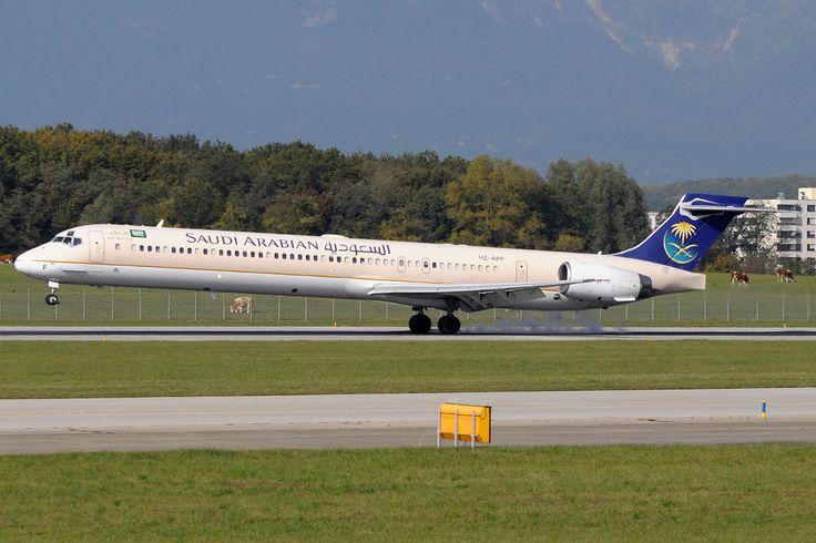 Saudi Arabian Airlines - Saudi Arabian Airlines McDonnell-Douglas MD-90