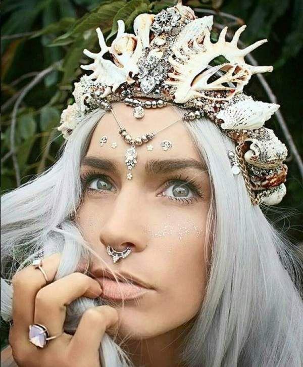 美得冒泡《貝殼王冠》設計製作的是一位懷抱美人魚夢的大美女~❤ - 圖片11