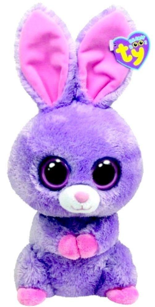 Soft cute cuddly purple bunny