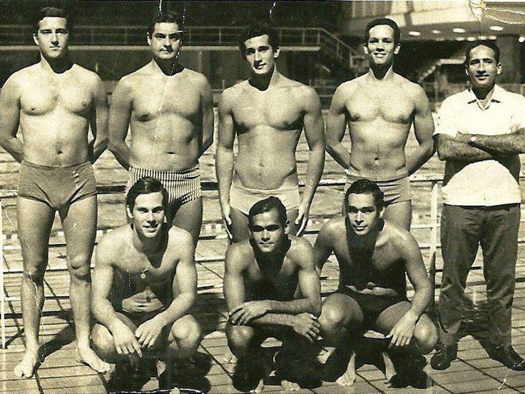 Museu Olímpico do Fluminense   Fase de Ouro do Pólo Aquático (1950 - 1960)