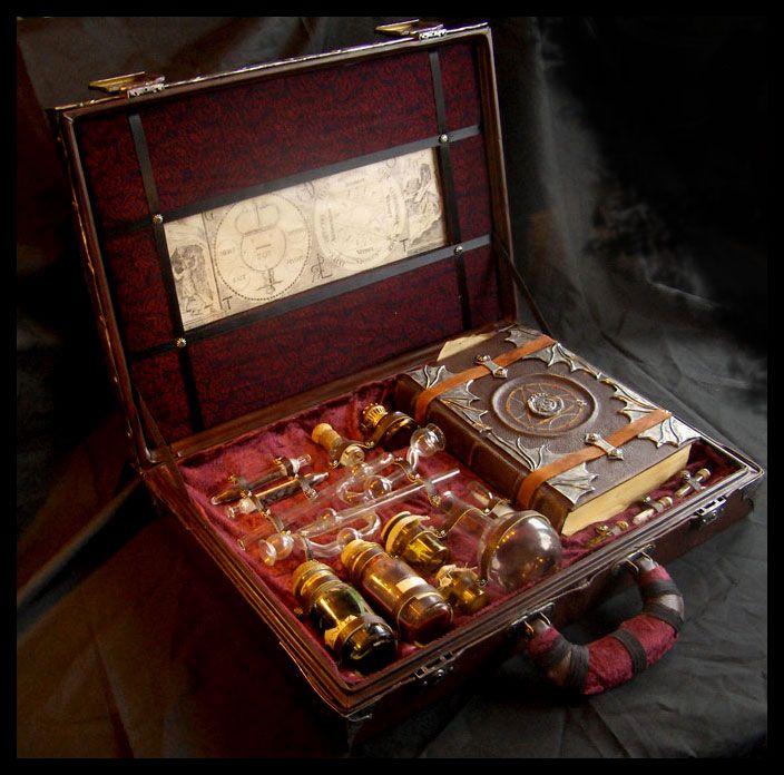 An Alchemist's Box, by *~ZombieArmadillo,* at deviantART.